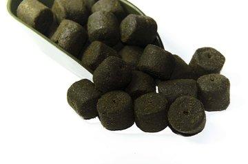 halibut pellets met gat