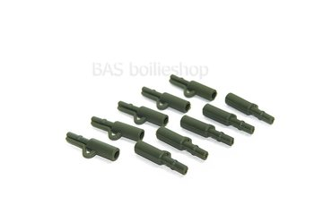 Safety lead clips Green (10 stuks)