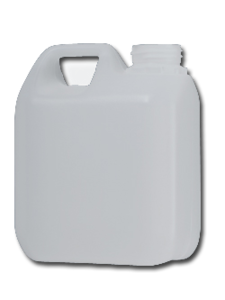 Jerrycan + dop 1 liter